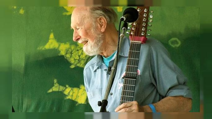 Folk music pioneer and activist Pete Seeger dies aged 94