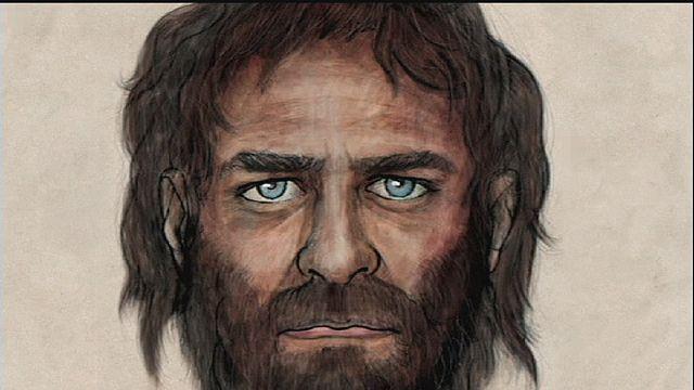 Голубоглазый пещерный человек