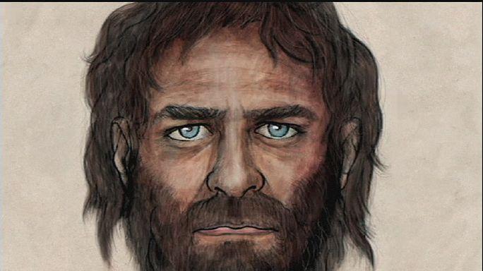 Kék szemű, de sötét bőrű lehetett az európai ősember