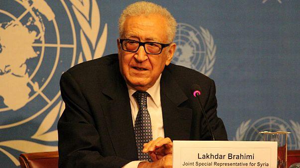 Brahimi says no substantive progress at Syria talks