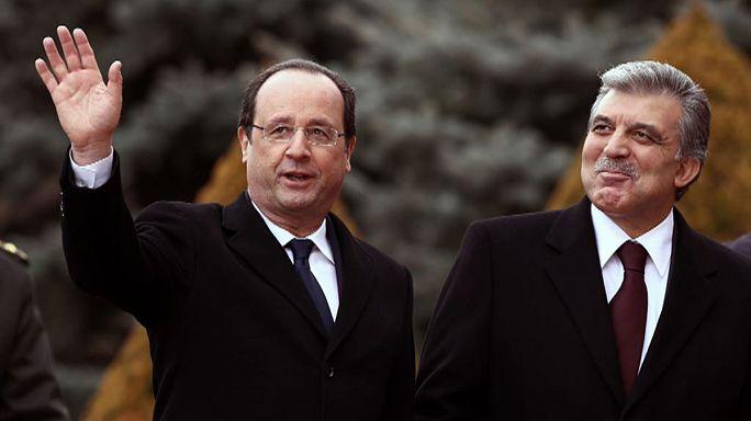Hollande ziyaretinin ardından