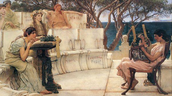 Найдены неизвестные стихи греческой поэтессы Сапфо
