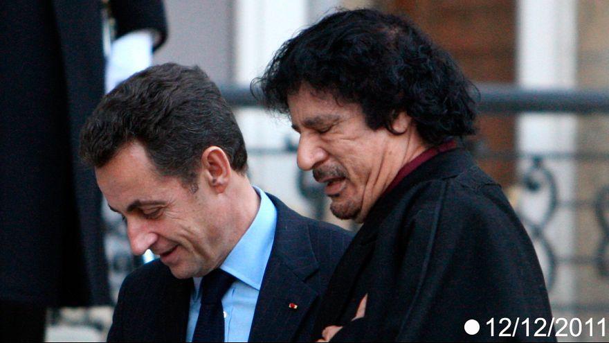 قضية تمويل حملة نيكولا ساركوزي الانتخابية من قبل القذافي تتفاعل من جديد