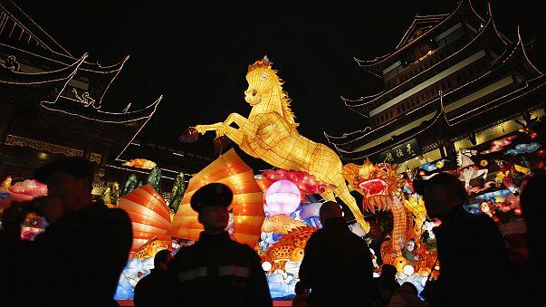 الصين تستقبل عام الحصان