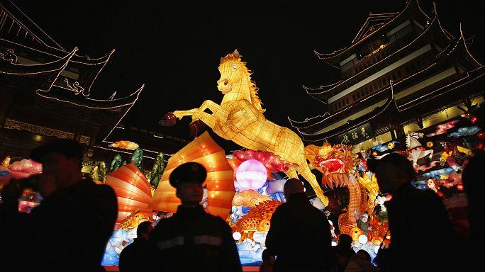 Çin 'At Yılı'na girdi