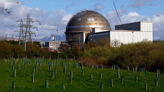 Le complexe nucléaire britannique de Sellafield en alerte