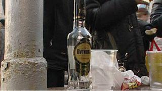 A vodka miatt halnak hamarabb az orosz férfiak