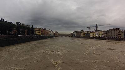 Italy: Severe floods in Pisa and Florence