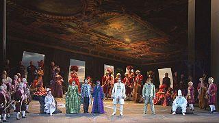 Don Giovanni de Mozart na Vienna Staatsoper