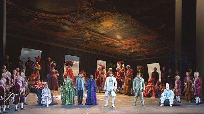 Rolando Villazon sings Don Ottavio at Vienna's Staatsoper