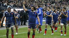 France stun England in Paris