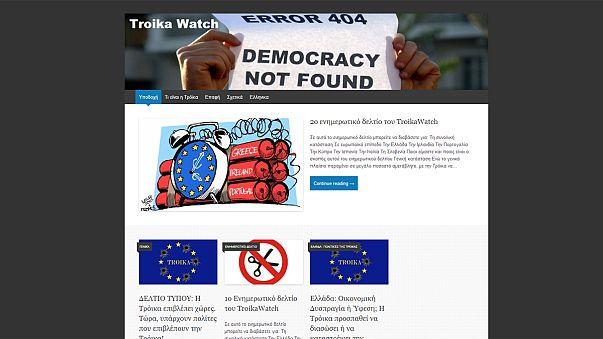 """De olho na """"troika"""""""