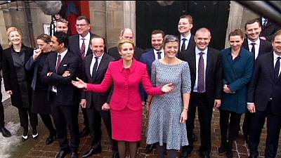 New government line-up unveiled in Denmark