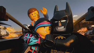 Brick by brick, Lego takes Hollywood