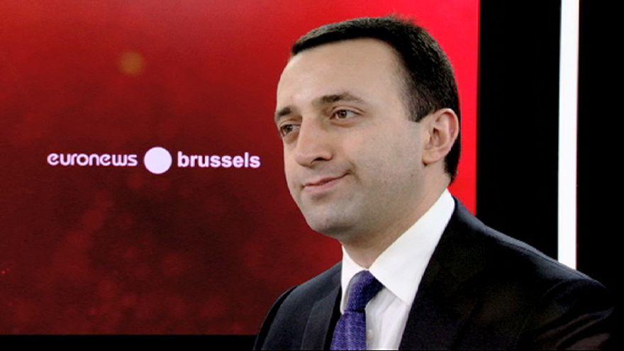 Ο νέος πρωθυπουργός της Γεωργίας στο euronews