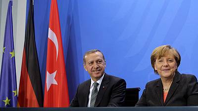 Erdogan urges Germany to back Turkey EU bid
