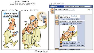 Pope's Twitter account in Latin hailed as 'Magna felicitate'