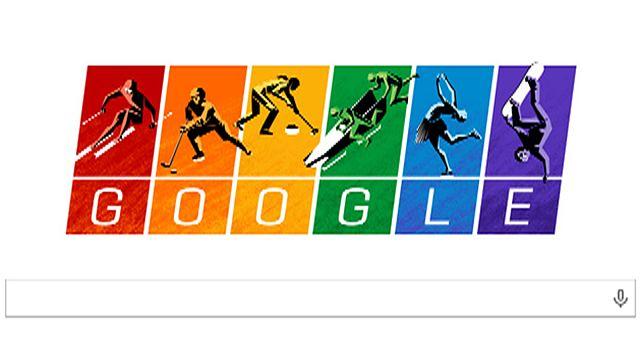 Google: радужная заставка в поддержку ЛГБТ