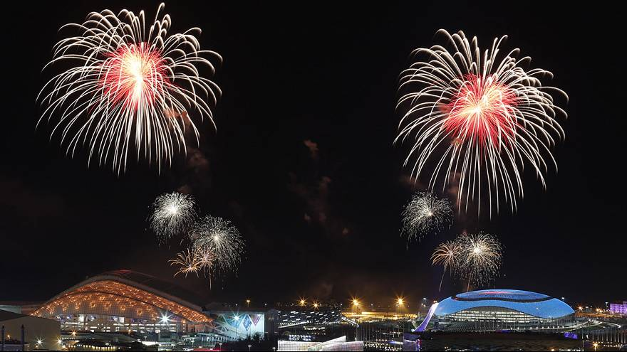 Spoiler alert: pictures from Sochi's official opening ceremony
