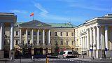 Robbantással fenyegettek meg több varsói minisztériumot