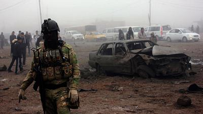 Iraq: Suicide bombing tutor kills himself and 20 pupils in training camp gaffe