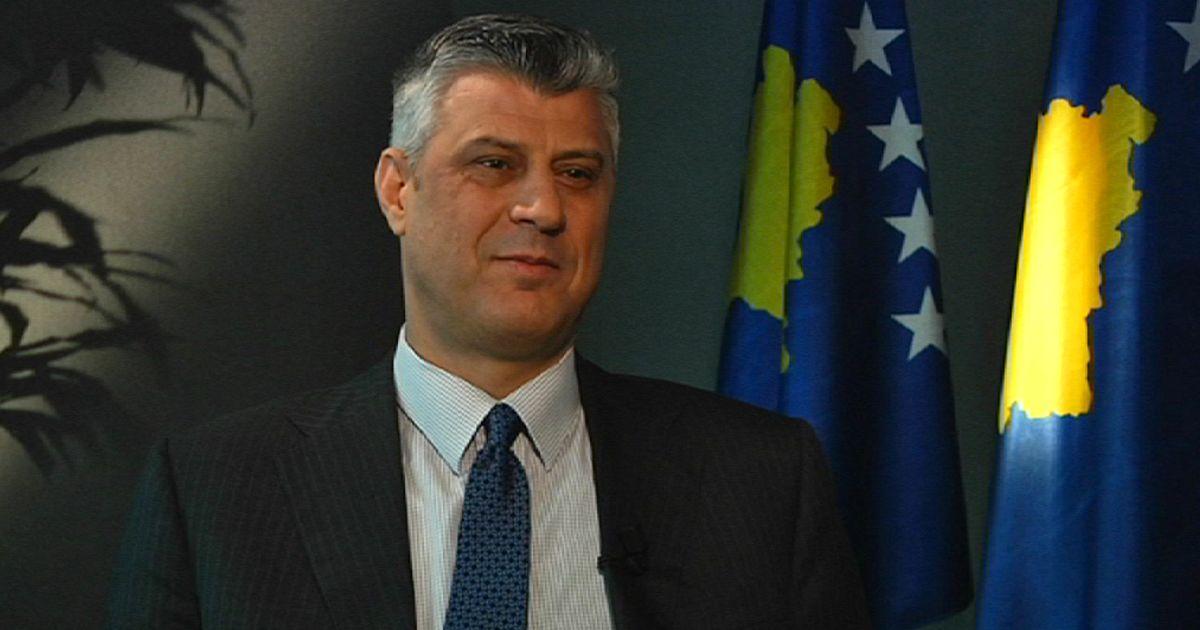 """Hashim Thaci Kosovo Hashim Thaci a Euronews """"il"""