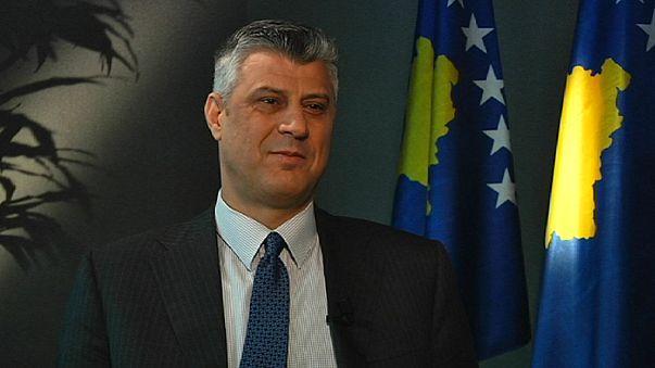 """Hashim Thaci a euronews: """"Il Kosovo entrerà nell'UE"""""""