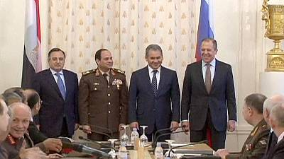 Egypt and Russia sign mutual cooperation pact in Moscow