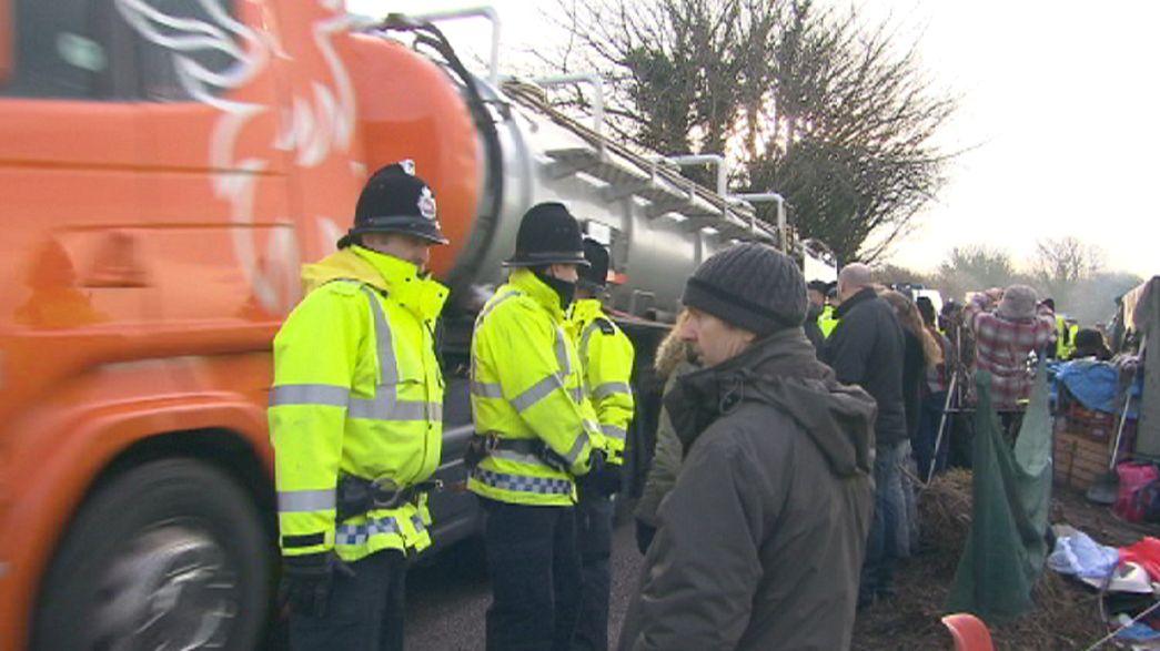 Exploração de gás de xisto contestada, no Reino Unido