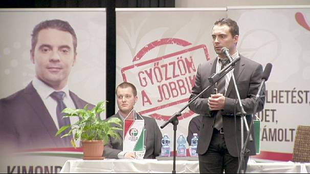 Protests as Hungary's far-right Jobbick party holds rally in former synagogue