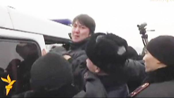 Protesters arrested in Kazakhstan after demonstration against currency devaluation