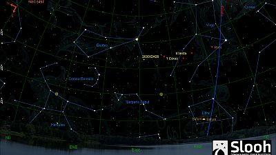 Un énorme astéroïde a frôlé la Terre mardi tôt dans la nuit