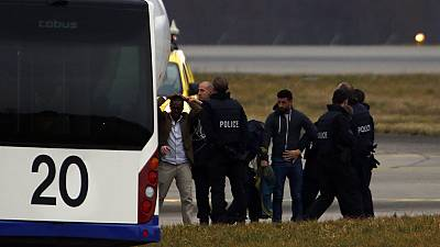 Swiss police say hijack co-pilot is claiming asylum