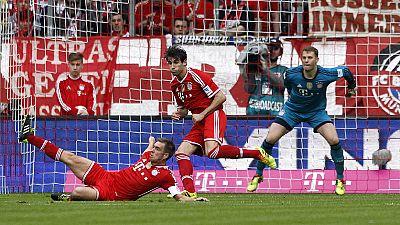 El Bayern de Guardiola es aún más líder y la 'batalla' continúa en España