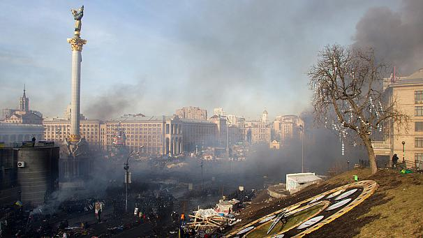 At least 17 dead after renewed clashes in Kiev