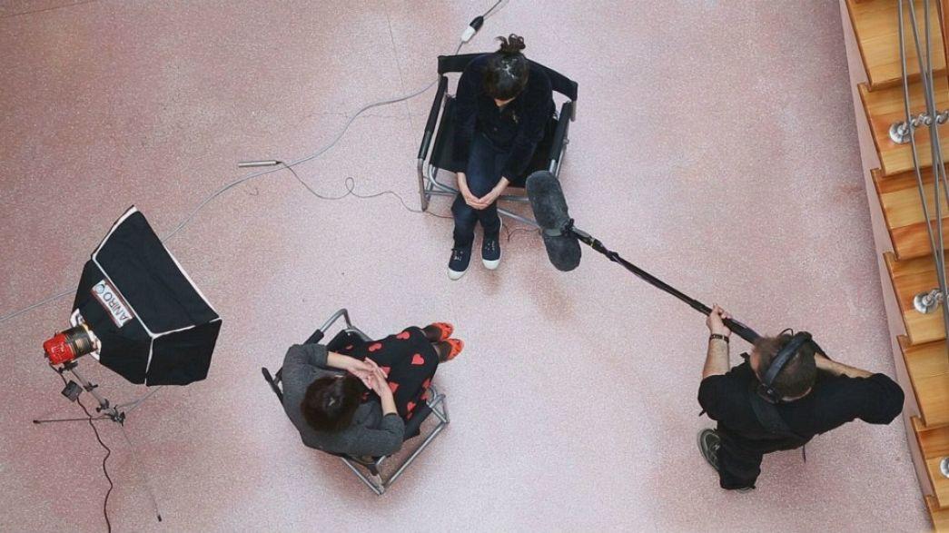 Trabalhar na indústria cinematográfica, as respostas de profissionais europeus