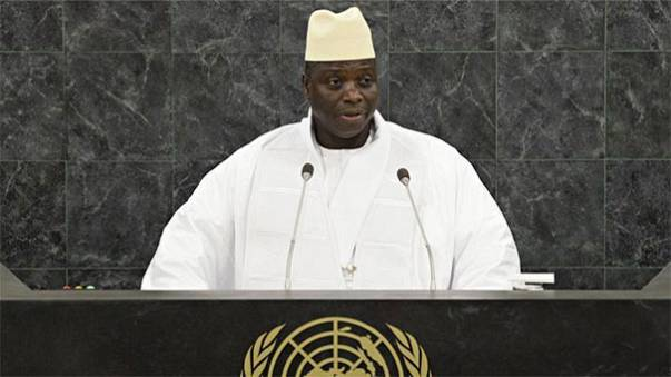'Gays are vermin,' says Gambia president Yahya Jammeh