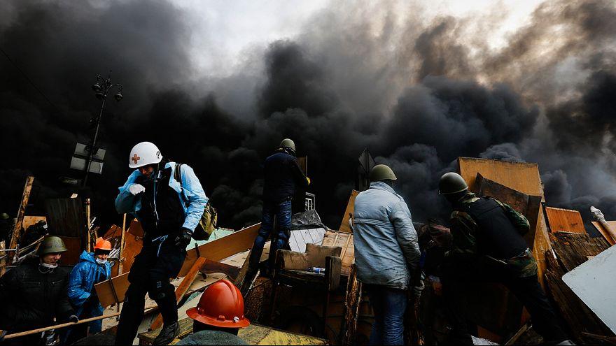Ukraine as it happened, Kyiv's bloodiest day