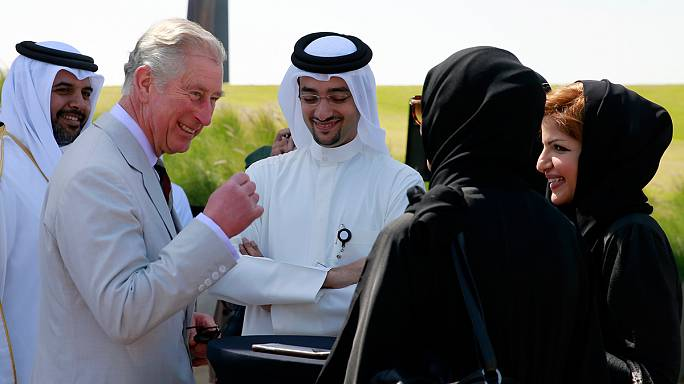 Watch: British royal Prince Charles hits the dancefloor (again) in Saudi Arabia