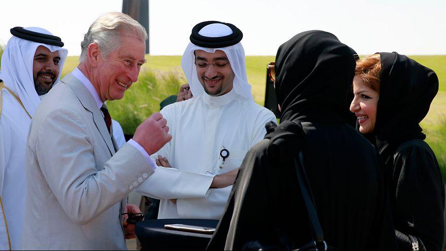 Ismét táncra perdült Károly herceg - videók!
