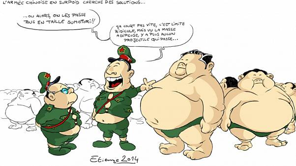 """L'armée chinoise aurait besoin de """"dégraisser le mammouth"""", d'urgence!"""