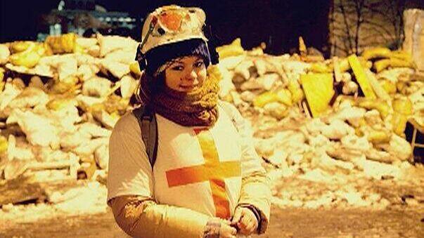 Kiev'deki şiddetten sağlık yetkilileri de payını alıyor