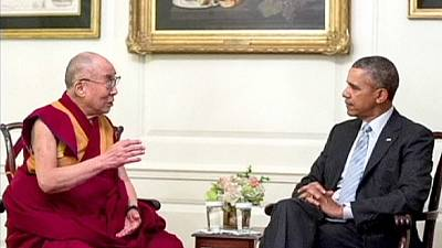 Obama meets with Dalai Lama despite warnings from China