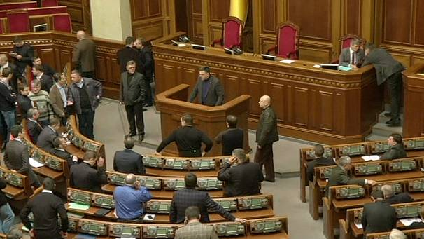 Politicians satisfied with decision to remove Yanukovich