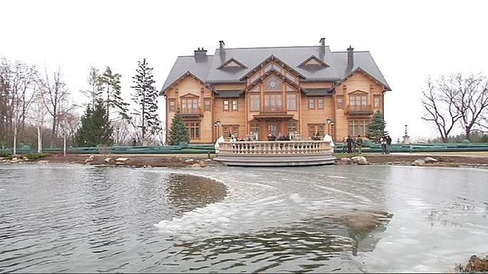 Ukraine : la luxueuse maison de campagne de Victor Ianoukovitch