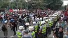 World Cup: clashes in Sao Paulo