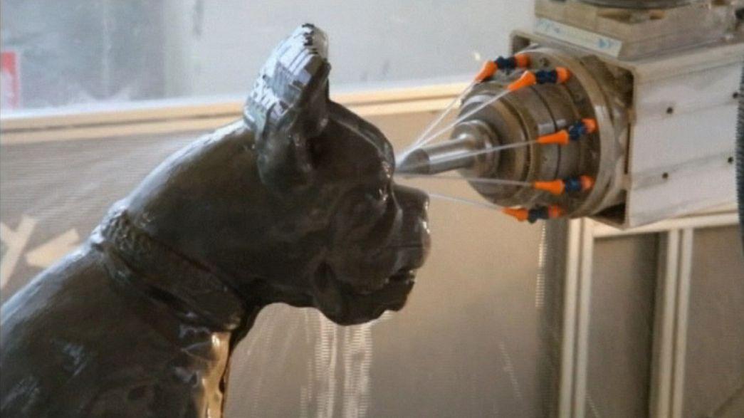 Robotic sculpting to save cultural heritage