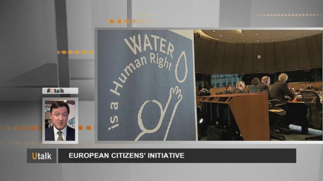 Water test for European Citizens' Initiative
