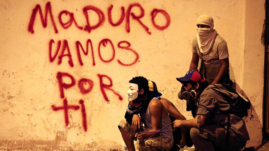 Venezuela'da muhalefet diyaloğa yanaşmıyor