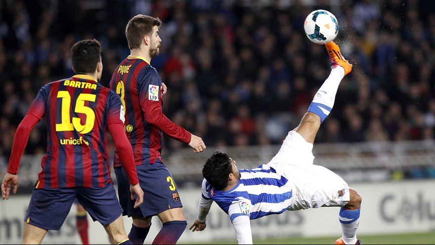 The Corner: Real Sociedad stun Barcelona